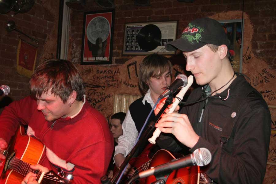 Алко-пати в Подвале 11 марта 2007