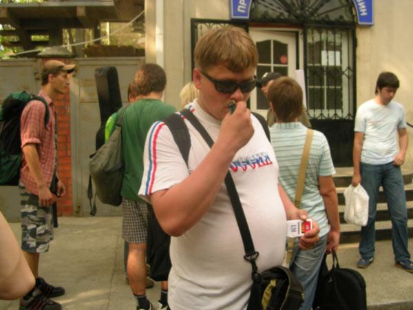 Выезд в адлерский треугольник 15.07.2006 г. Отрыв! :) Фотки Запой+Лимонады! :)