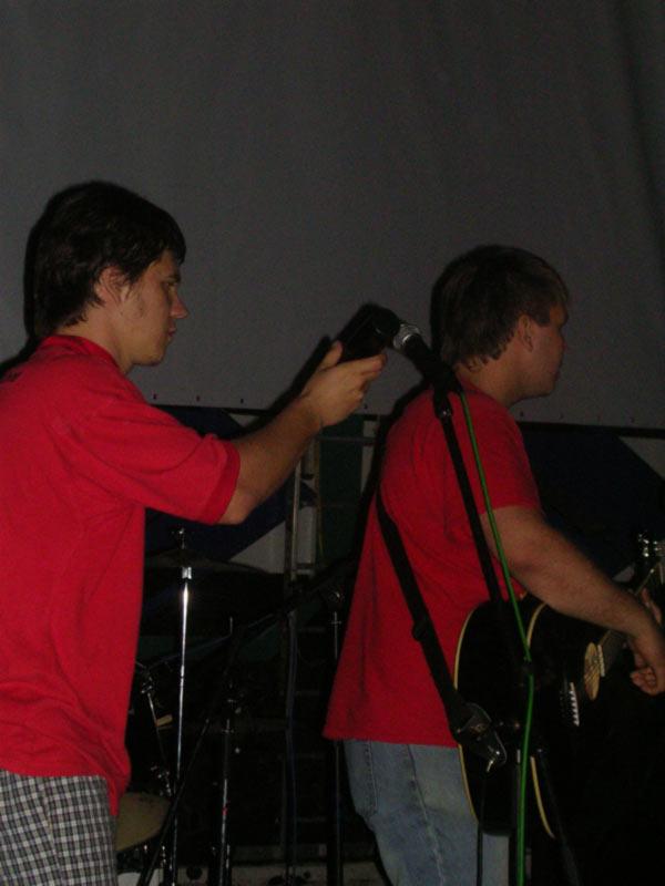 Выступление 22 июня 2006 в Первомайской роще на байк вечерине. Совместный концерт с группами КУМ, Наоборот, Белки на Акации.