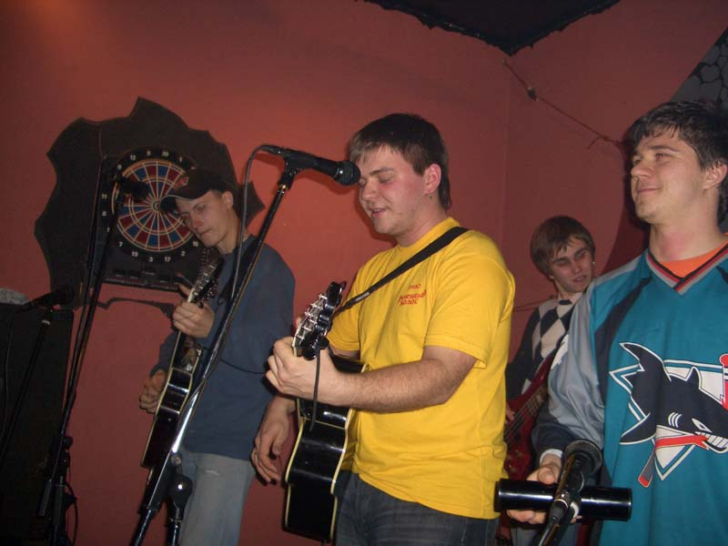 Сольное выступление в адлерском клубе Треугольник. 28 января 2006 года