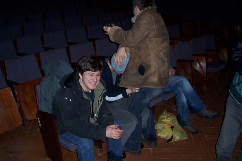 Выезд в Брюховецкую. Совместное выступление с группами Гумберт-Гумберт, Нефрит, Крылья и Баланс. 18 февраля 2006 года.